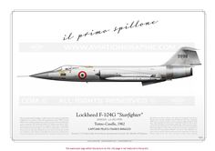 ITALIAN AIR FORCE . AERONAUTICA MILITARE : Manufacturer: Lockheed  Model: F-104G Starfighter