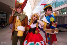Pinocchio #cosplay | San Diego Comic Con 2014