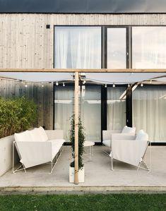 Fix i trädgården - Rebecca Centrén Ikea Outdoor, Outdoor Lounge, Outdoor Spaces, Outdoor Living, Outdoor Decor, Patio Design, House Design, Balcony Plants, Cool Rooms