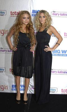 Mary Kate en Ashley Olsen in 2006
