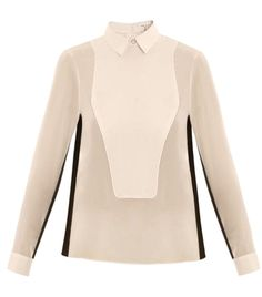 Back button tux blouse by rag , Taylor Swift wore this at the X-Factor showing I went to, and it was so darling on her! Now I need the same one.. If I win the Matches and Motilo Shopping Spree Competition :) #matchesfashion http://www.matchesfashion.com http://www.motilo.com/