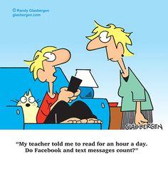 Today's Randy Glasbergen cartoon  (Sept/21/2014)