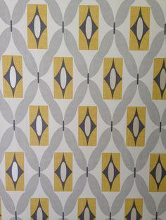 Kitchen diner on pinterest orla kiely metro tiles and for Living room wallpaper b q