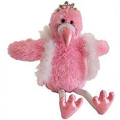 Animated Musical Flamingo Plush  Dazzling Flamingo Flaps Her Wings & Sings!