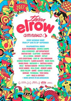 #housemusic elrow announce line-up for Amnesia residency: The extravagant show will launch on Saturday 3rd June with a brand new theme set…