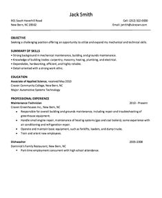 this example dishwasher restaurant resume sample we will give you a refence start on building resumeyou can optimized this example resume on creating
