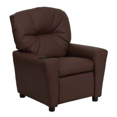 Kids will now be able to enjoy the comfort that adults experience with a comfortable recliner that was made just for them! This chair features a strong wood frame with soft foam and then enveloped in durable leather upholstery for your active child. Choose from an array of colors that will best... more details available at https://furniture.bestselleroutlets.com/children-furniture/chairs-seats/recliners/product-review-for-winston-direct-kids-series-contemporary-brown-leather-