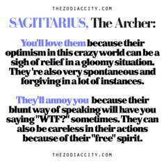 Sagittarius: The Archer — Why You'll Love Them & Why They'll Annoy You