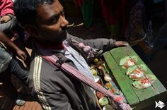 Paan vendor during festivities in #Bhaktapur #Nepal. Paan is a betel leaf combined with areca nut and sometimes also with tobacco. It is chewed for its stimulant and psychoactive effects! #should_have_tried_this