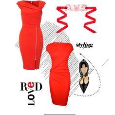 Red on Valentine's   http://www.wearethecity.com/valentines-looks/
