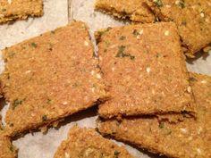 Homemade crackers.  Easy Easy Easy!