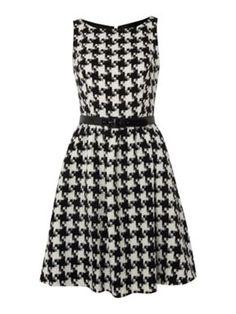 UNTOLD Houndstooth Dress - love