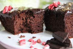 Sponge Cake, Great Recipes, Brownies, Low Carb, Healthy, Sweet, Desserts, Food, Cakes