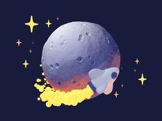 Spacechase dribbble
