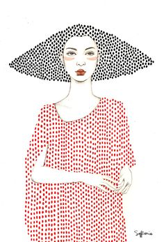 Elle by Sofia Bonati Art Print