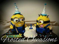 Minions Birthday Party Cake