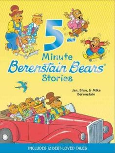 JJ FAVORITE CHARACTERS BERENSTAIN BEARS. A treasury containing 12 short Berenstain Bear stories invites young readers to join Mama, Papa, Brother, Sister and Honey Bear as they have an adventure at the aquarium, learn to care for a kitten, enjoy a rambunctious sleepover and more.
