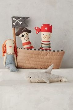 Anthropologie Pirate Rattle Set
