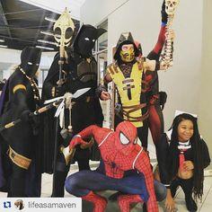 #blackpanthers we're killing it! #wearewakanda #hartfordcomiccon #hartfordcomiccon2015 #cosplay #cosplayers #blackpanther #tchalla #shuri #cosplayandcomics #marvelcomics #superheroes