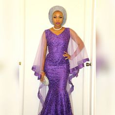 These are aso ebi ankara and lace styles you can't resist but to rock to any owanmbe party you intend going. Select a style for your ankara and Aso Ebi Lace Styles, Lace Gown Styles, African Lace Styles, African Print Dresses, African Dresses For Women, African Wear, African Attire, African Fashion Dresses, African Women