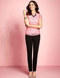 Cleo | Blush Pink Lace Top #CleoFashion www.cleo.ca