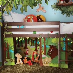 The Gruffalo Playhouse Curtains