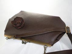 taška Ema čokoládovohnedá