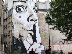 France - Paris 4è - Place Igor Stravinsky - by Jef Aerosol -