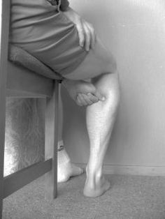 Posterior tibial tendonitis/insufficiency treatment: trigger point massage