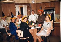 Vintage New Year's Party, 1961 by ElectroSpark, via Flickr