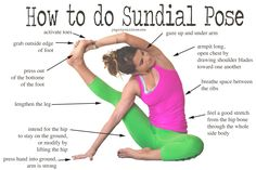 Pin now, practice sundial pose later!