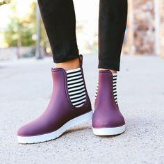Orly Rain Boot - Bordeaux
