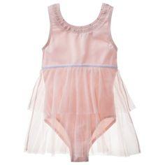 Freestyle® by Danskin® Girls' Tank Babydoll -  Pink Rose