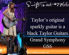 I love that guitar!!! Taylor Swift Facts, Taylor Swift Quotes, Taylor Alison Swift, You Oughta Know, Taylor Guitars, Taylor Schilling, Swift 3, She Song, Look At You