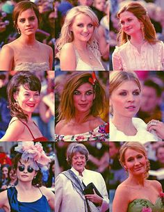 Harry Potter Cast Ladies