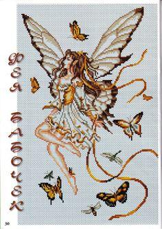Butterfly Sprite - 1/5 PUNTADITAS (pág. 85) | Aprender manualidades es facilisimo.com