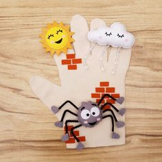Felt Puppets, Hand Puppets, Finger Puppets, Sewing For Kids, Diy For Kids, Crafts For Kids, Sewing Stuffed Animals, Stuffed Toys Patterns, Circle Time Activities