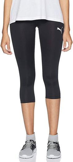 Sporthose  Bekleidung, Damen, Leggings Women's Sports Tights, Puma, Sports Women, Black Leggings, Black Jeans, Pants, Clothes, Fashion, Clothing
