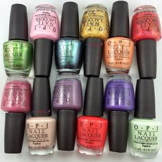 Choose from an array of new polishes for your toes this spring like the new OPI Hawaii collection, they are GORGEOUS!