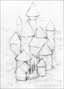 Image of: simple architectural sketches design inside house sketch plans modern small floor inside house House Sketch, House Drawing, Art Drawings Sketches, Easy Drawings, Simple Pencil Drawings, Castle Drawing Easy, Castle Sketch, Architecture Drawing Sketchbooks, Cartoon House