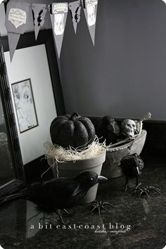 A Bit East Coast Halloween Decor