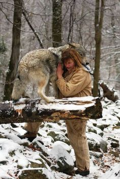 Don't tell me wolves have no feelings or emotions. :)