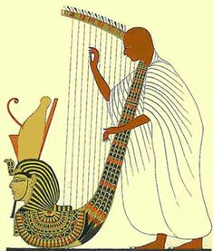 instrument in ancient egypt | Music in ancient egypt | Pinterest ...