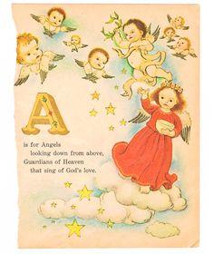 1962 : Golden Book - the Christmas ABCs.