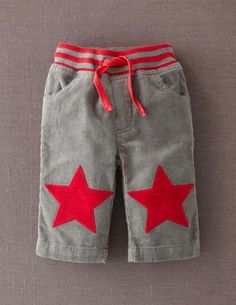 Baby Star Patch Pants