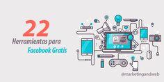 22 herramientas de Facebook gratis para empresas. Actualizado 2015 #herramientasgratisfacebook