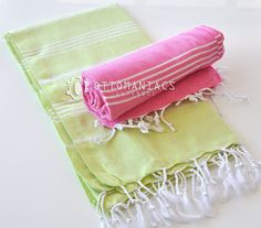 Swimsuit Cover Up 2 pcs Newborn Baby Blanket Linen by Ottomaniacs, $36.95