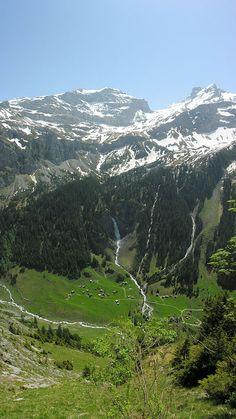 Klausenpass, Urnerboden, Uri, Switzerland
