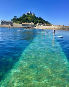 St Michael's Mount, Cornwall. ✈✈✈ Here is your chance to win a Free Roundtrip Ticket to anywhere in the world **GIVEAWAY** ✈✈✈ https://thedecisionmoment.com/free-roundtrip-tickets-giveaway/