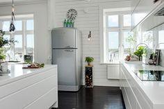 foorni.pl | Eklektycznie w Göteborgu, lodówka retro
